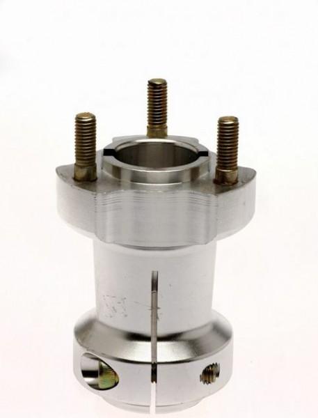 Radstern 30x95mm Aluminium silber