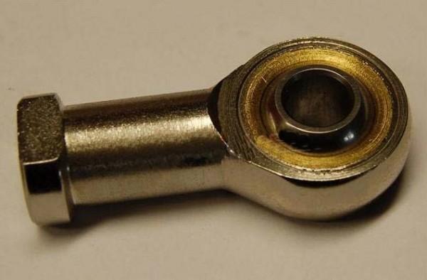 Spurstangengelenkkopf mit Innenrechtsgewinde 8mm